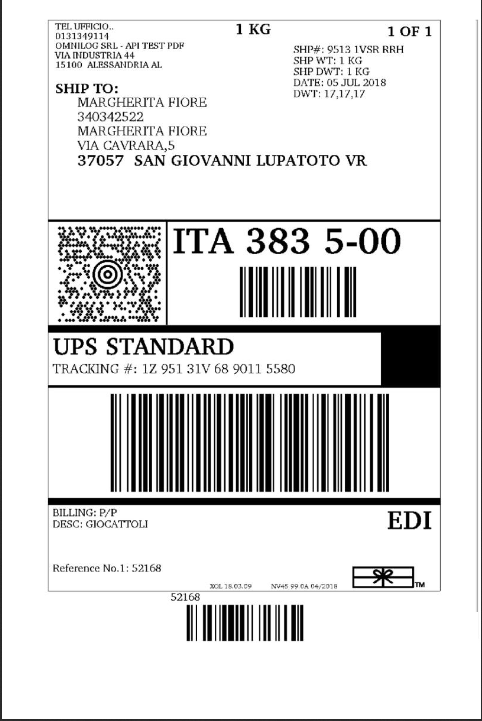 How To Print Ups Shipping Label